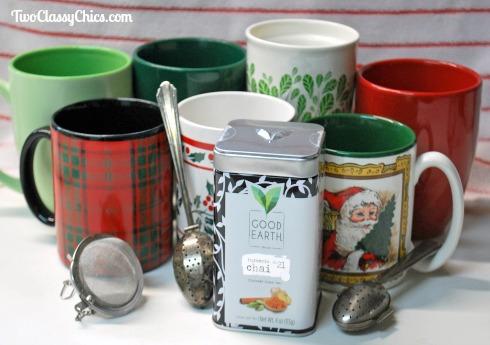 Good Earth Tea's New Turmeric Chai Tea Blend