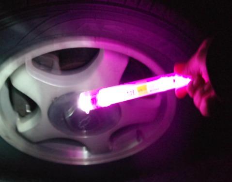 Life+Gear Flashlight and Glow Stick