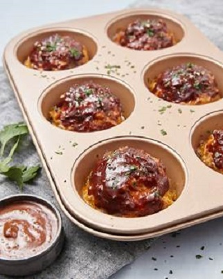 Baked Mini Meatloaves Recipe