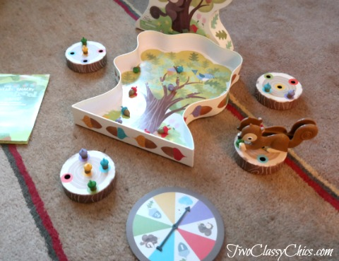 The Sneaky, Snacky Squirrel Game from Educational Insights