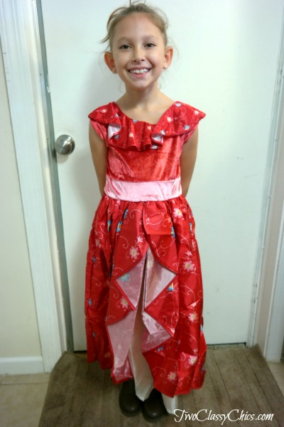 Girl's Spanish Princess Costume from Little Adventures