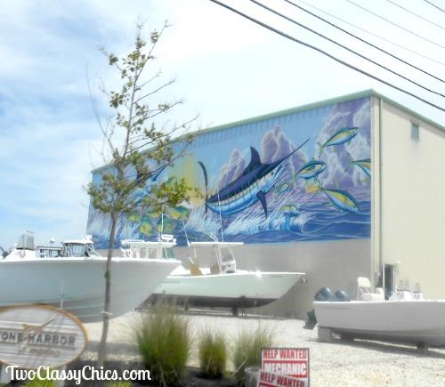 Stone Harbor David Dunleavy Mural
