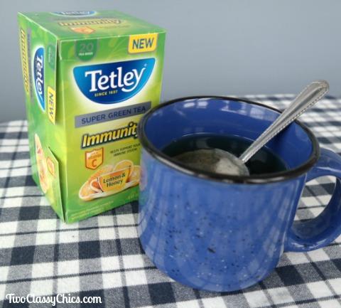 Tetley Immunity Super Green Tea with Lemon & Honey