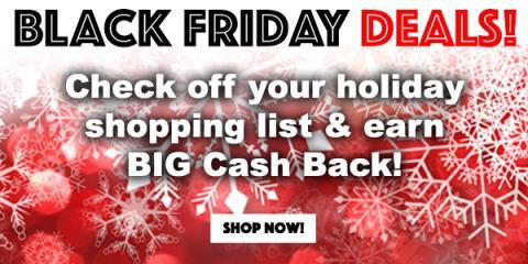 Get Big Cash Back during the Swagbucks Black Friday Sale