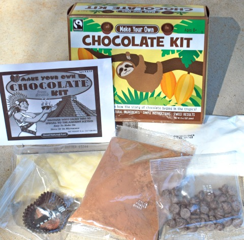 Glee Gum's Make Your Own Chocolate Kit