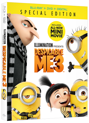 Movie Review – DESPICABLE ME 3 Starring Steve Carell