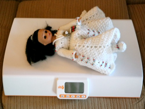 Precision BabyCheck Digital Baby Scale by EatSmart