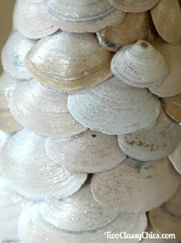 Seashells and Starfish Christmas Trees Craft Project