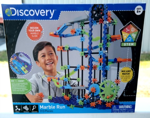 Kids Can Design Their Own Marble Slide with Marble Run