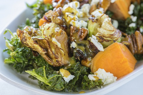 Roasted Greens and Sweet Potato Recipe