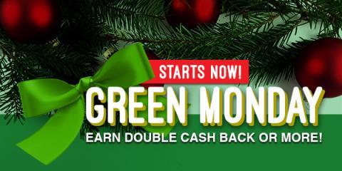 Huge Cash Back Deals During the Swagbucks Green Monday Sale