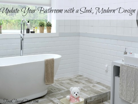 Update Your Out-of-Date Bathroom with a Sleek, Modern Design