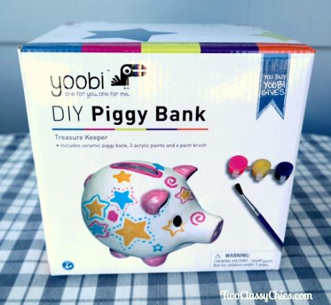 Kids Crafts - DIY Ceramic Piggy Banks
