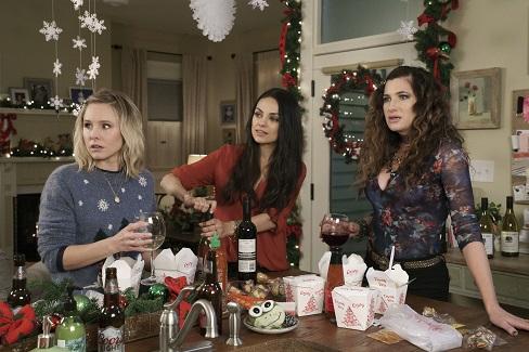 A Bad Moms Christmas Movie Blu-Ray DVD