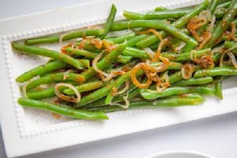 Baked Sugar Snap Peas Recipe