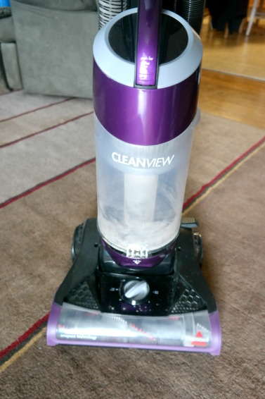 Light-Weight and Powerful Upright Bagless Vacuum Gets the Job Done!