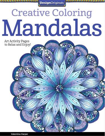 Design Originals Creative Coloring Mandalas by Valentina Harper