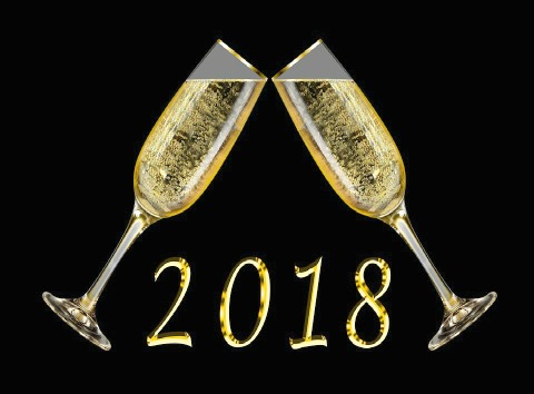 Happy New Year - Welcome to the Year 2018