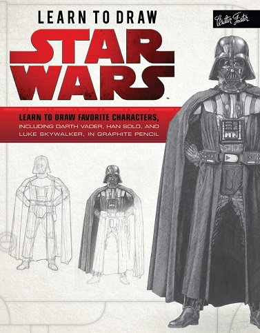 Learn to Draw Star Wars Book by Russell Walks