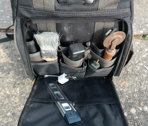 Custom Leathercraft Tech Gear 53 Pocket Lighted Backpack