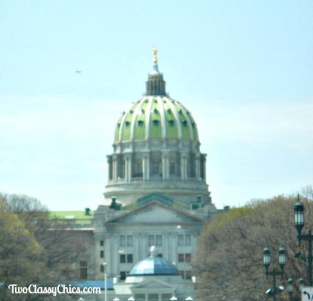 Pennsylvania State Capitol Building in Harrisburg