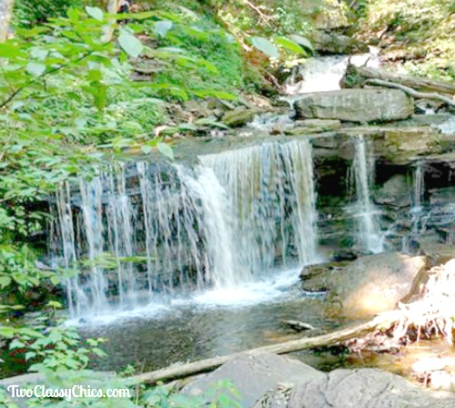 Ricketts Glen State Park in Pennsylvania