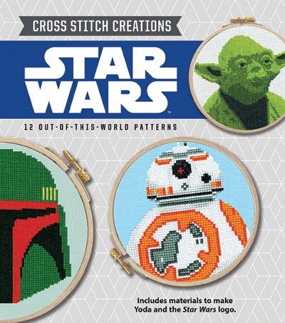 Star Wars Cross Stitch Creations Pattern Book and Starter Kit