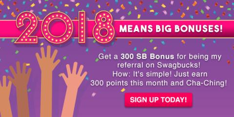 Get $3 When You Sign Up for Swagbucks in January