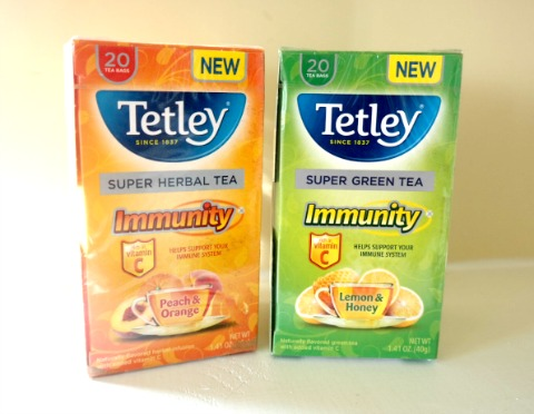 Fend Off Colds with the Winter Tealixir and Tetley Immunity Teas