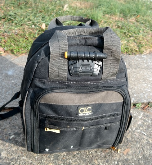Custom Leathercraft Tech Gear 53 Pocket Lighted Backpack