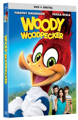 Woody Woodpecker Movie DVD Giveaway