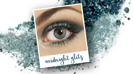 Makeup Tutorial – Midnight Glitz from Osmosis Colour