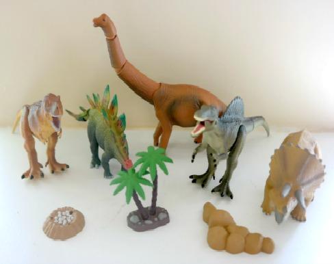 ANIA Animals Dinosaur Toys for Kids