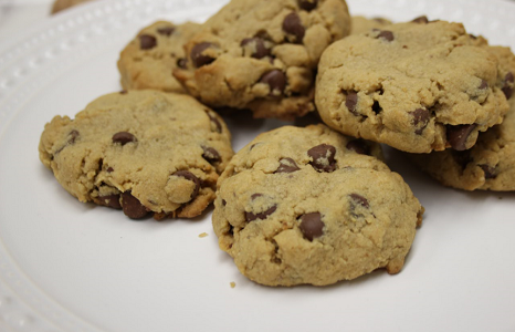 Coconut Protein Chocolate Chip Cookies Recipe