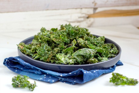 Kale Chips with Flax Seeds Recipe