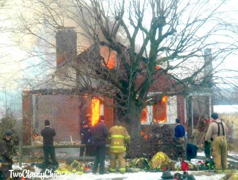The Fire Department and Controlled-Burn House Fire