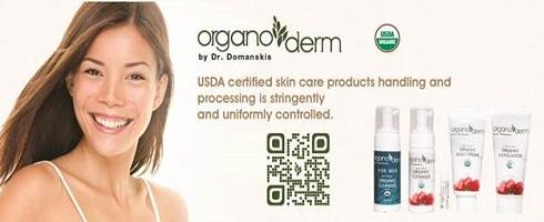 Organoderm Organic Skincare Products