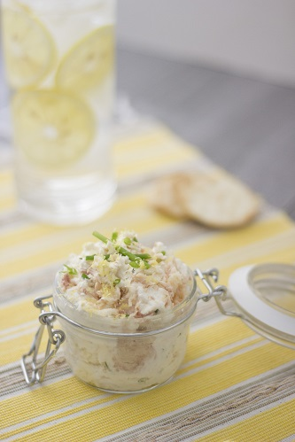 Lemon Infused Smoked Trout Spread Recipe
