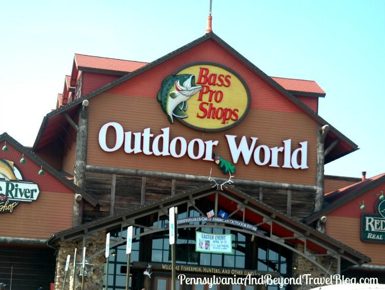 Bass Pro Shops Outdoor World in Harrisburg Pennsylvania