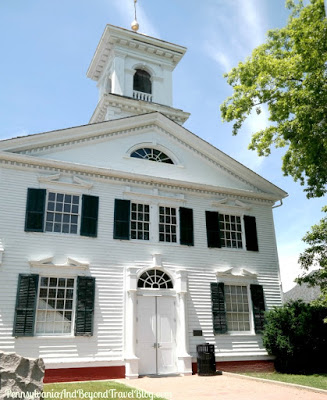 The Historic Cape May County Court House in New Jersey
