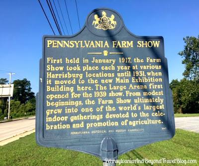 Pennsylvania Farm Show Historical Marker in Harrisburg