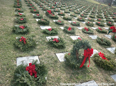 Wreaths Across America at the Indiantown Gap National Cemetery in Pennsylvania