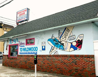 Street Art: Roxy's Welcome to Wildwood Wall Mural in New Jersey