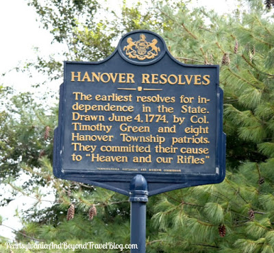 Hanover Resolves Historical Marker in Grantville Pennsylvania