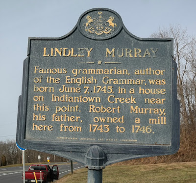 Lindley Murray Historical Marker in Annville Pennsylvania