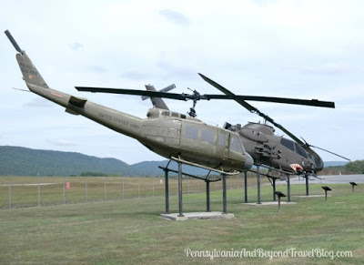 Huey Helicopter Ft Indiantown Gap Pennsylvania